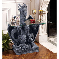 Subservient Dragon Table - Sculptcha