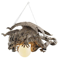Nightfall Gargoyle Chandelier - Sculptcha