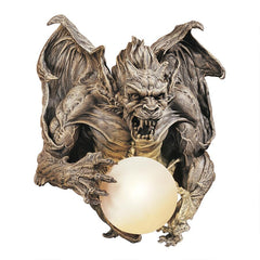 Merciless The Gargoyle Sconce Lamp Sculpture