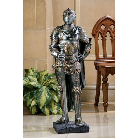 The King's Guard Sculptural Suit of Armor Knight Replica - Sculptcha