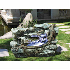 Staggered Rock Canyon Garden Fountain - Sculptcha