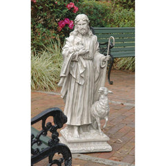 Jesus The Good Shepherd Grande Statue - Sculptcha