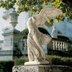 Estate Nike of Samothrace Statue - Sculptcha