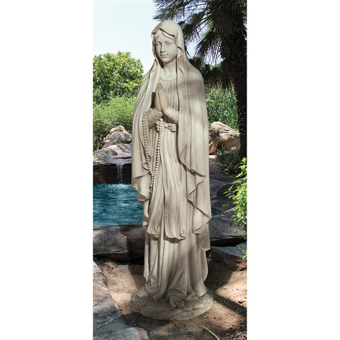 Life Size Virgin Mary Statue - Sculptcha