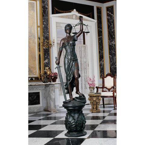 Grande Themis Goddess of Justice Statue - Sculptcha