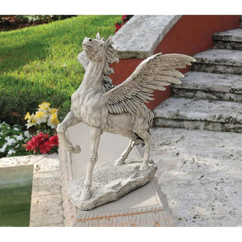 Grand Pegasus Winged Horse Sculpture - Sculptcha
