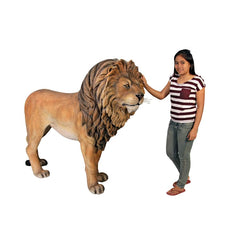 Life Size King of the Lions Statue