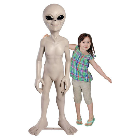 Giant Out Of This World Alien Statue - Sculptcha