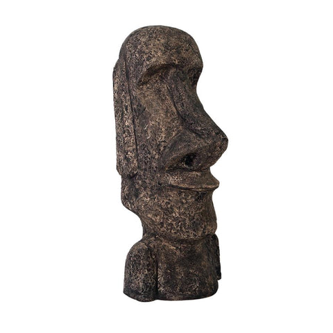 Extra Extra Large Easter Island Moai Monolithic Head Statue - Sculptcha