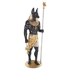Egyptian Gran Ruler Anubis Statue Without Mount - Sculptcha