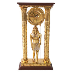 Temple of Amun Royal Egyptian Clock - Sculptcha