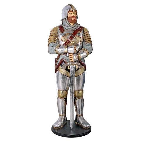 Medieval Knight of the Round Table Replica - Sculptcha