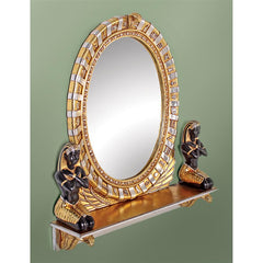 King Amenhotep Egyptian Vanity Mirror - Sculptcha