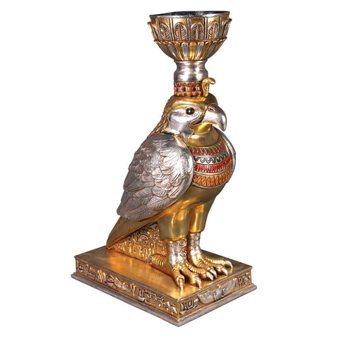 Horus the Egyptian Winged Falcon Urn - Sculptcha