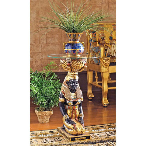 Egyptian Goddess Eset Table - Sculptcha