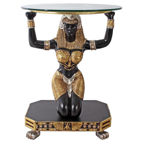 Egyptian Goddess Maat Console Table - Sculptcha