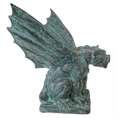 Winged Gargoyle of Naples Statue