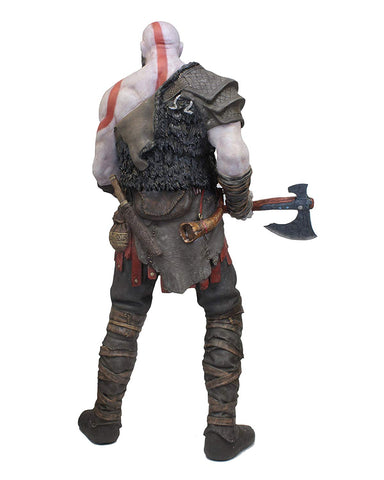 God of War (2018) - Life-Size Foam Replica - Kratos - Sculptcha
