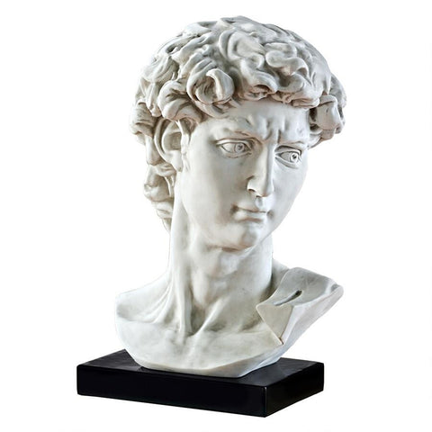 Bust of Michelangelo's David Statue - Sculptcha