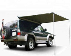 Trustmade 6'x6' Car Side Awning Rooftop Pull Out Tent Shelter Shade SUV Outdoor Camping Travel GreyBlack - Sculptcha