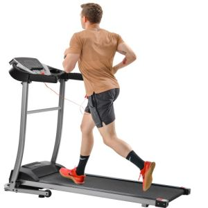 Electric folding treadmill home treadmill electric treadmill exercise machine, with 12 preset programs
