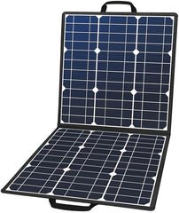 100W 18V Portable Solar Panel, Foldable Solar Charger Compatible with Portable Generator - Sculptcha