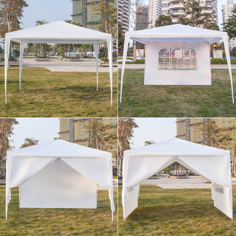 Outdoor Canopy Tent Gazebo, Portable for Home, Wedding, Party, Barbecue, Waterproof Tent - Sculptcha