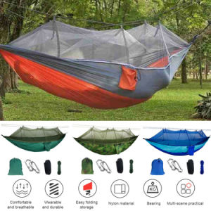 Camping Hammock with net - Sculptcha