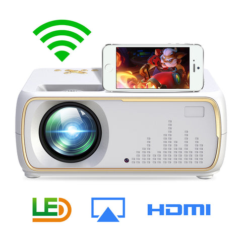 Home Video LCD Projector Multimedia Home Cinema Theater 1280x800 Resolution