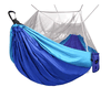 Image of Camping Hammock with Net - Lightweight Double Portable Hammocks for Indoor, Outdoor, Hiking, Camping, Backpacking, Travel, Backyard, Beach