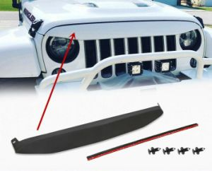 Grill Front Grille Nighthawk Light Brow for 2007-2017 Jeep Wrangler JK - Sculptcha