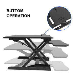 Electric Height Adjustable Standing Desk  - Sit to Stand Office Tabletop - Sculptcha