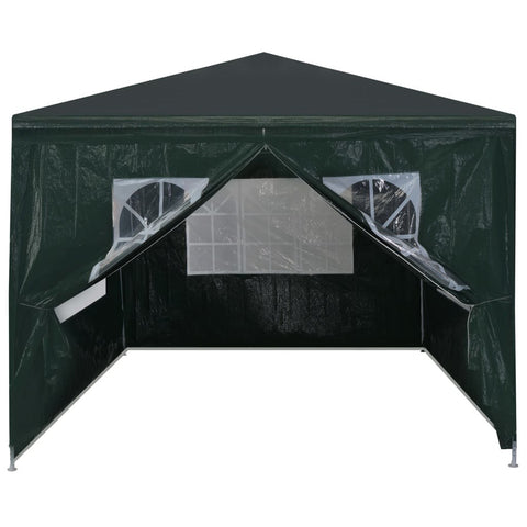 Outdoor Pavilion Canopy Tent for Special Events, Parties, Wedding, Barbecue, Birthday Party with Removable Wall, Black
