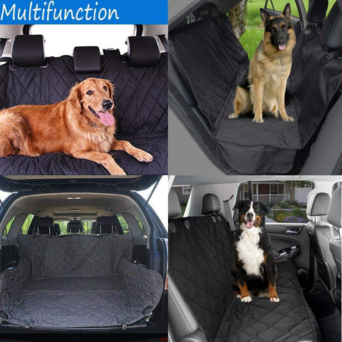 Waterproof Pet Dog Seat Hammock Cover Car Truck Back Rear Protector Mat Blanket - Sculptcha