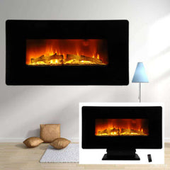 free standing fireplace heater