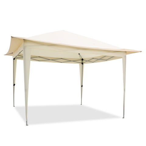 Pop Up Gazebo Tent, Suitable for Patio and Garden, Outdoor Canopy with 140 Square Feet of Shade, Portable with Carry Bag