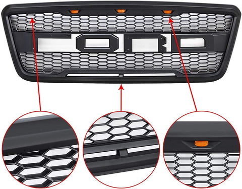 front grille 2004-2008 ford f150