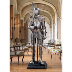 Italian 16th Century Medieval Suit of Armor Knight Statue