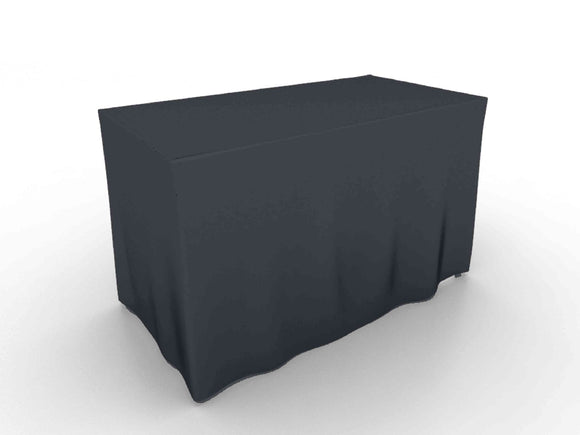 Stock and Custom Color Fitted Table Cover 4' (48x24x29)