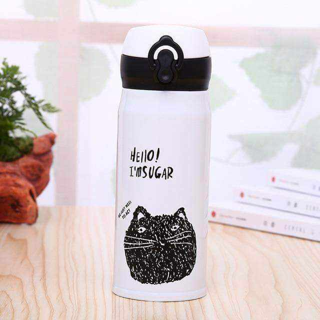 La Maison du Bambou 350ml / as picture Gourde isotherme qui a du chat !