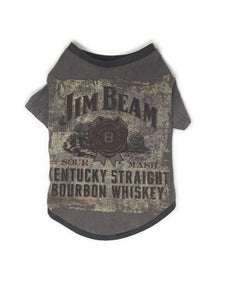 Jim Beam Dog Tee, Size Large, Whiskey, Bourbon
