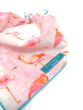 Load image into Gallery viewer, Welcome To Miami Bandana, Flamingo Bandana, Dog Bandana, Watercolor, Flamingo Theme