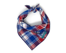 Load image into Gallery viewer, Patriot Pup Bandana, Red White and Blue Dog Bandana, American Accessories