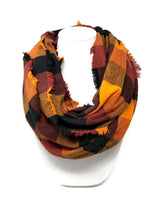 Load image into Gallery viewer, Fall Harvest Flannel Fray Dog Bandana