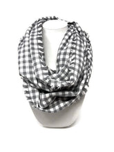 Load image into Gallery viewer, Gray Areas Dog Bandana with Matching Infinity Scarf