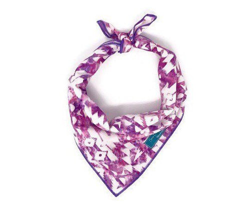 Pink and Purple Boho Bandana, Boho Accessories, Dog Bandana, pink bandana, purple bandana, tie dye bandana