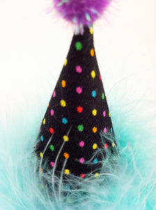 Dog Party Hat, Cat Party Hat, Mini Polka Dots