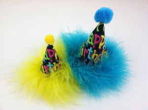 Happy Birthday Party Hat for Dog or Cat, Dog Birthday Hat, Cat Birthday Hat