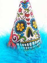 Load image into Gallery viewer, Party Hat for Day of the Dead, Dog Day of the Dead