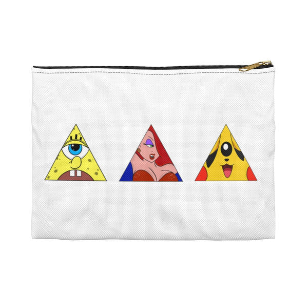 """Trio"" Toons of controversy accessory Pouch"